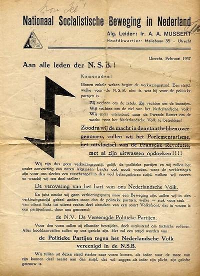 Nationaal Socialistische Beweging in Nederland