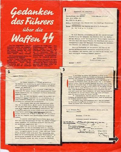 Hitler Freibrief für de SS