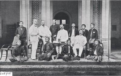 Kantoor personeel te Semarang