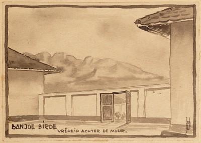 Banjoe Biroe vrijheid achter de muur