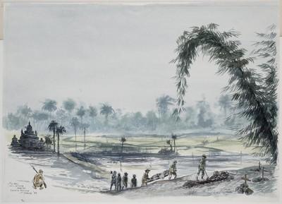begrafenis aan de Birma-spoorweg