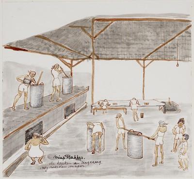 De keuken van Tangerang