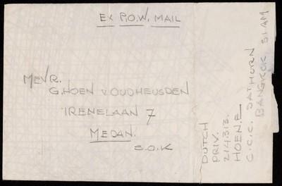 EX P.O.W. Mail