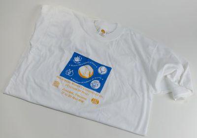 T-shirt. Women and a Culture of Peace. Femmes et culture de la paix.