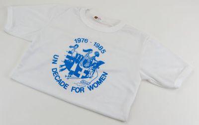 T-shirt. 'UN Decade for Women'
