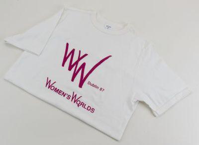 T-shirt. Women's World. Dublin' 87