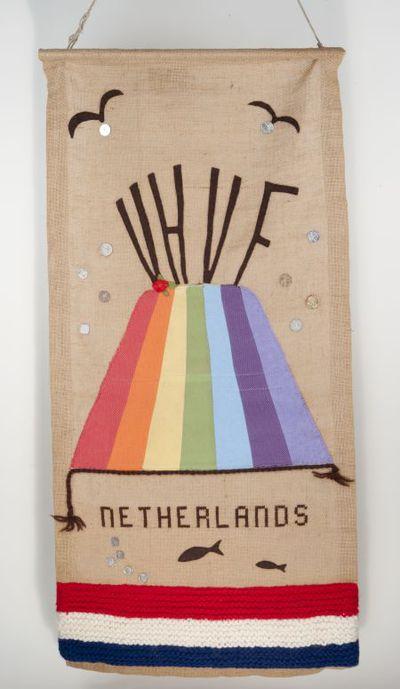 Wandkleed. Vrijzinnig Hervormde Vrouwen Federatie in Nederland (VHVF)