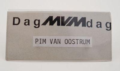 Button. 'DagMVMdag'