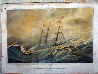 Lithographie «Le Magellan»