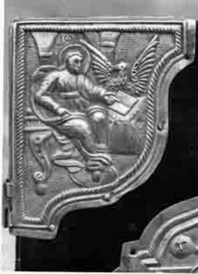 Gospel, cover, detail