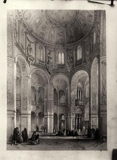 Veduta dell'interno della Basilica di San Vitale