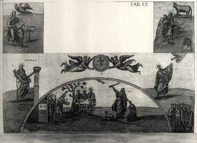 Decorazione a mosaico del presbiterio della Basilica di San Vitale
