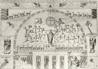 Decorazione a mosaico della Basilica di Sant'Apollinare in Classe