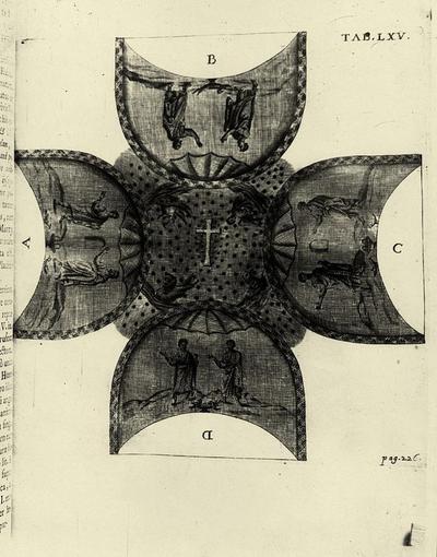 Decorazione musiva della cupola del Mausoleo di Galla Placidia