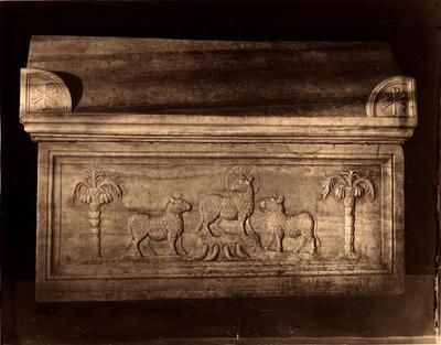 Ravenna, Mausoleo di Galla Placidia, Cosiddetto sarcofago di Costanzo III