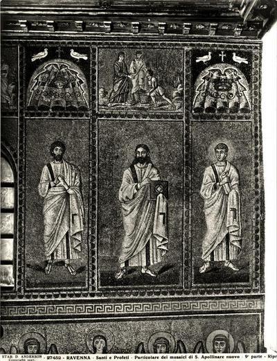 Ravenna, Basilica di Sant'Apollinare Nuovo, Profeti e Nozze di Cana