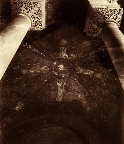Ravenna, Basilica di San Vitale, Volta a crociera con Agnus Dei e angeli