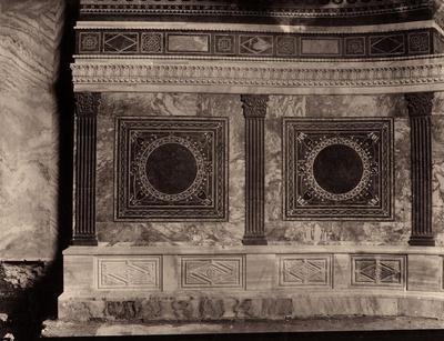 Ravenna, Basilica di San Vitale, Tarsie marmoree dell'abside
