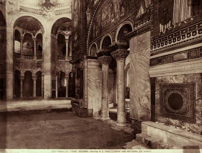 Ravenna, Basilica di San Vitale, Interno (durante i restauri)