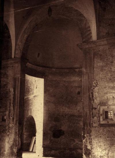 Ravenna, Basilica di San Vitale, Cappella della Pietà (demolita durante i restauri)