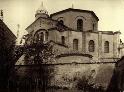 Ravenna, Basilica di San Vitale (veduta dall'orto della Basilica di Santa Maria Maggiore)