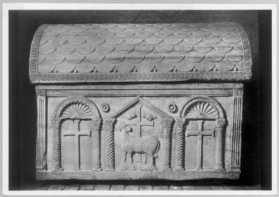 Ravenna, Mausoleo di Galla Placidia, Sarcofago