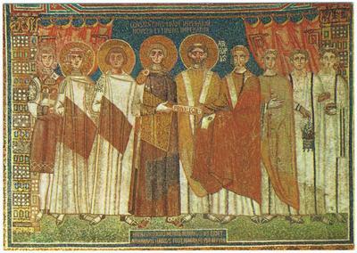 Ravenna, Basilica di Sant'Apollinare in Classe, La consegna dei privilegi