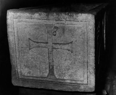 Imola, Museo Diocesano, Sarcofago con pavoni, fianco sinistro