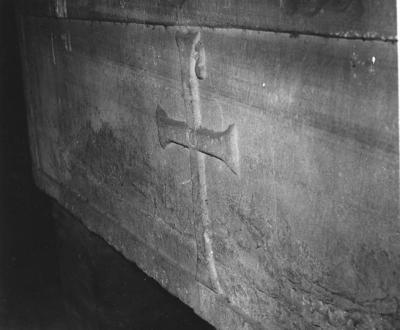 Imola, Museo Diocesano, Sarcofago con pavoni, retro