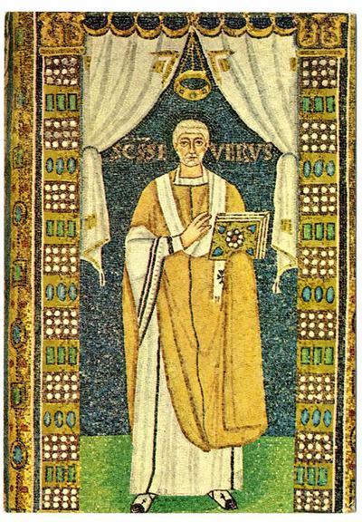 Ravenna, Basilica di Sant'Apollinare in Classe, Vescovo Severo