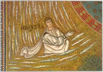 Ravenna, Basilica di Sant'Apollinare in Classe, Trasfigurazione, Profeta Mosè
