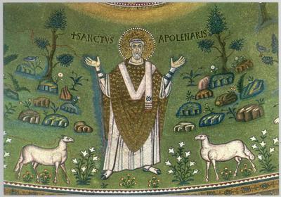 Ravenna, Basilica di Sant'Apollinare in Classe, Sant' Apollinare