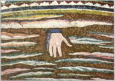 Ravenna, Basilica di Sant'Apollinare in Classe, Trasfigurazione, particolare