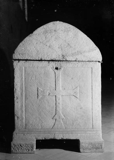 Ravenna, Basilica di Sant'Apollinare in Classe, Sarcofago dell'arcivescovo Grazioso, fianco sinistro