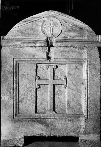 Ravenna, Basilica di Sant'Apollinare in Classe, Sarcofago dell'arcivescovo Giovanni, fianco destro