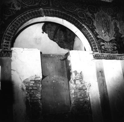 Ravenna, Ex Oratorio della Sabbionara (Santa Maria della Pietà), interno