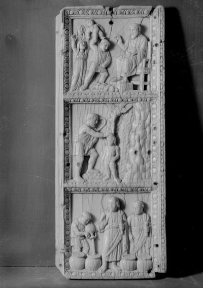 Berlino, Bode Museum, Valva di dittico con storie della vita di Cristo
