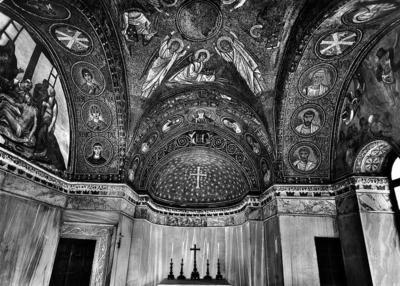 Ravenna, Cappella Arcivescovile, abside