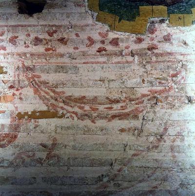 Ravenna, Museo Nazionale, Sinopia proveniente da Sant'Apollinare in Classe (prima dello stacco)