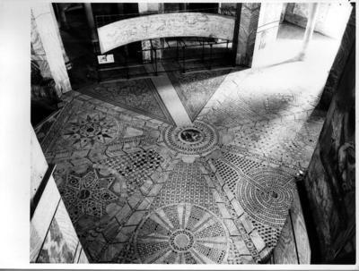 Ravenna, Museo Nazionale, Sinopia dalla Basilica di Sant'Apollinare in Classe