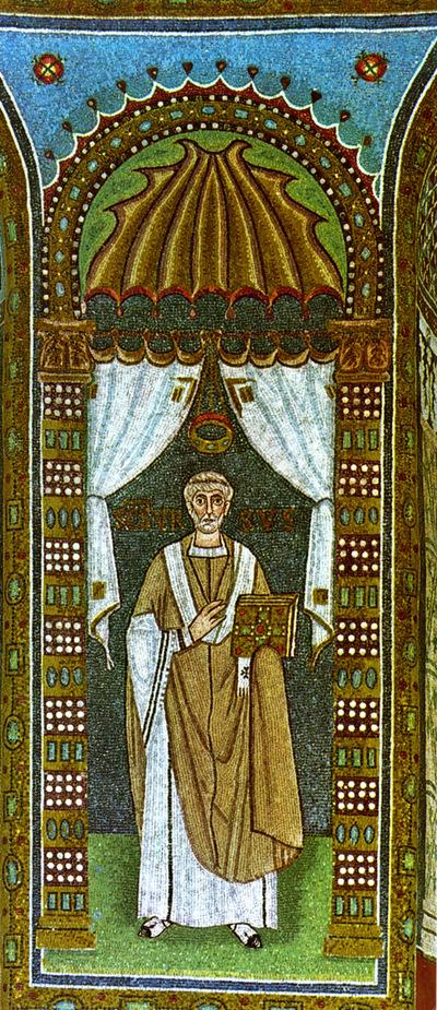 Ravenna, Basilica di Sant'Apollinare in Classe, Vescovo Orso