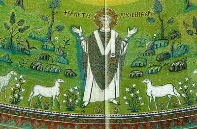 Ravenna, Basilica di Sant'Apollinare in Classe, Sant'Apollinare
