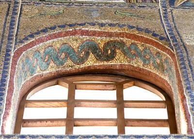 Ravenna, Basilica di Sant'Apollinare Nuovo, Intradosso