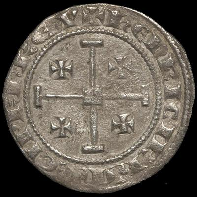 Bank of Cyprus Cultural Foundation: Coin of Henry II  and Amaury (1306-1310)