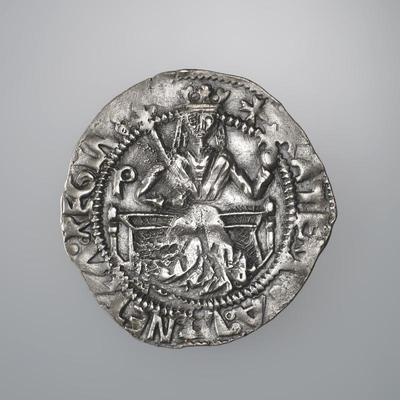 Bank of Cyprus Cultural Foundation: Coin of  Queen Catherine Cornaro (1474-1489)