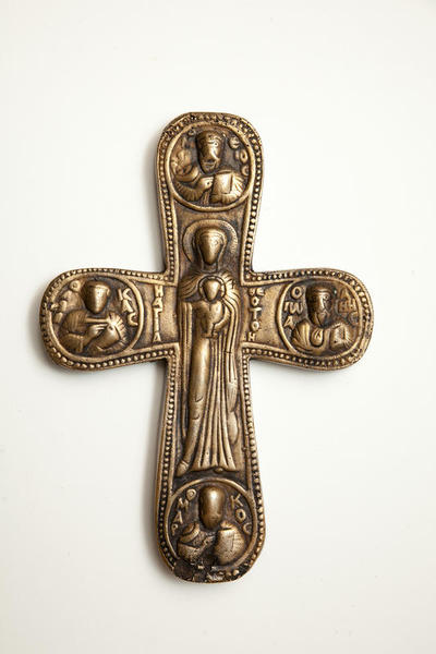 Byzantine Museum of Holy Bishopric of Tamasos and Oreinis (Cyprus): Cross (TA080)