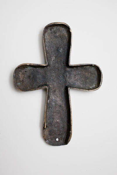 Byzantine Museum of Holy Bishopric of Tamasos and Oreinis (Cyprus): Cross, inner side (TA080)