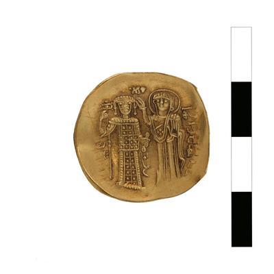 Byzantine Museum of Holy Bishopric of Tamasos and Oreinis (Cyprus): Hyperpyron of John II Komnenos (1118-1143) (TN123) Reverse