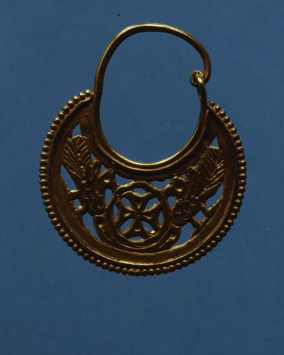 Department of Antiquities Republic of Cyprus: Gold earring (J. 502)