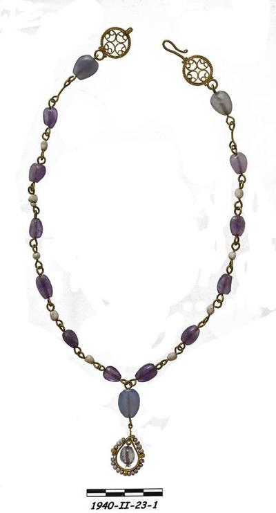 Department of Antiquities Republic of Cyprus: Necklace (1940/ΙΙ-23/1)